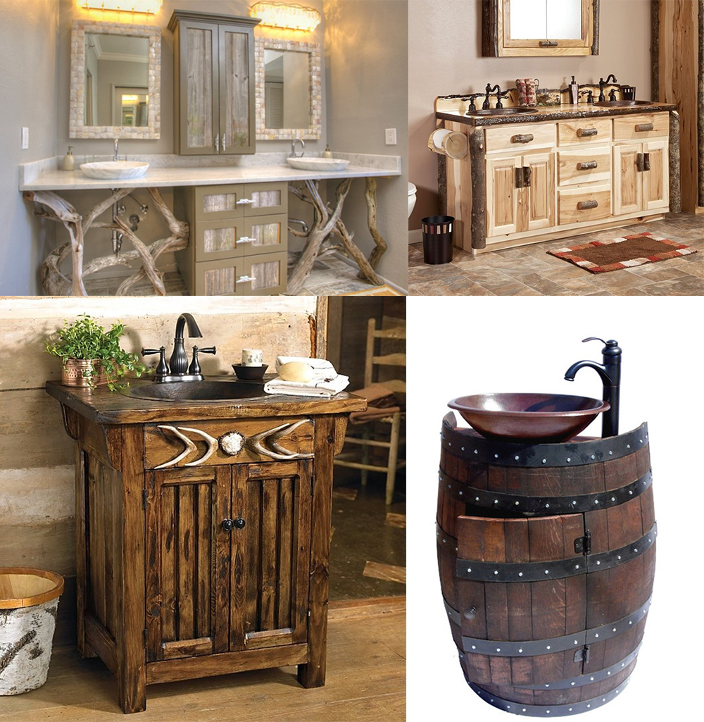 Les paniers et les éléments tressés devraient trouver leur place dans vos idées de design de salle de bain 2018.