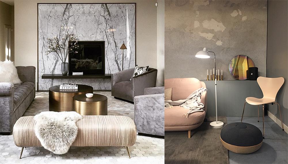 Salon 2018 tendances couleurs photos et conseils - Decoration living couleurs ...