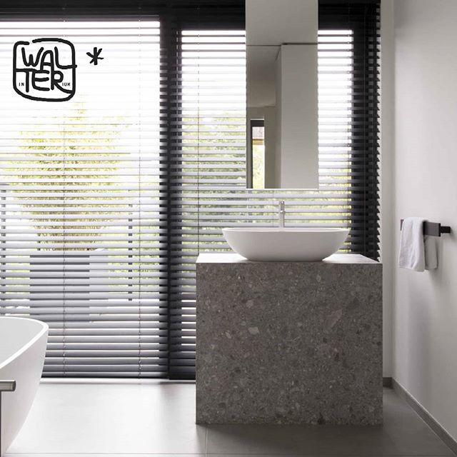 Le design unique de la salle de bain