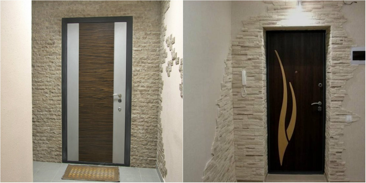 Design extérieur de la porte