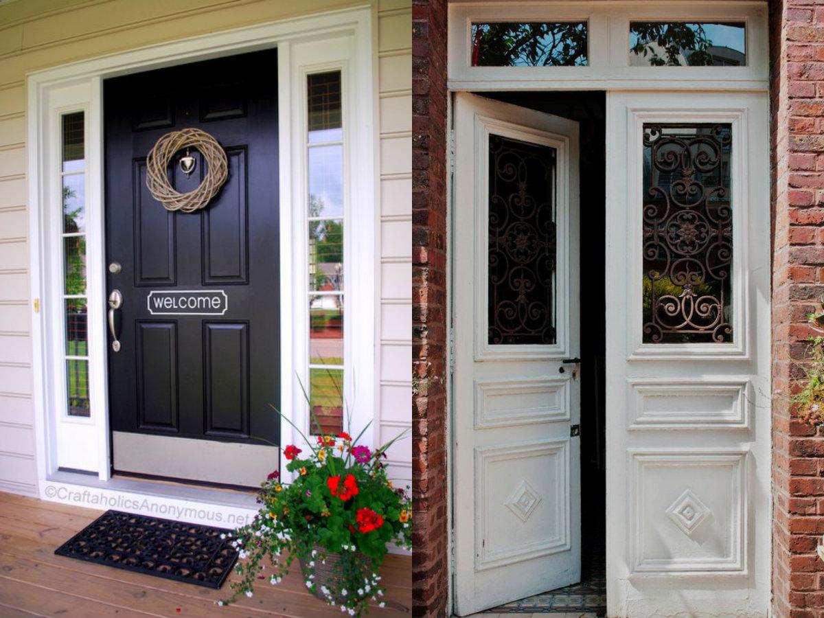 les portes 2019 remplissent les fonctions de protection de la maison