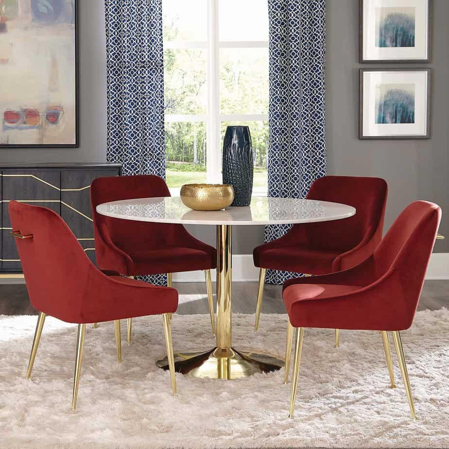 Idées de design de salle à manger 2021: chaises
