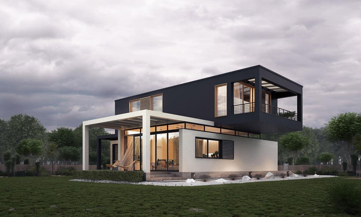 Couleur façade maison tendance 2021