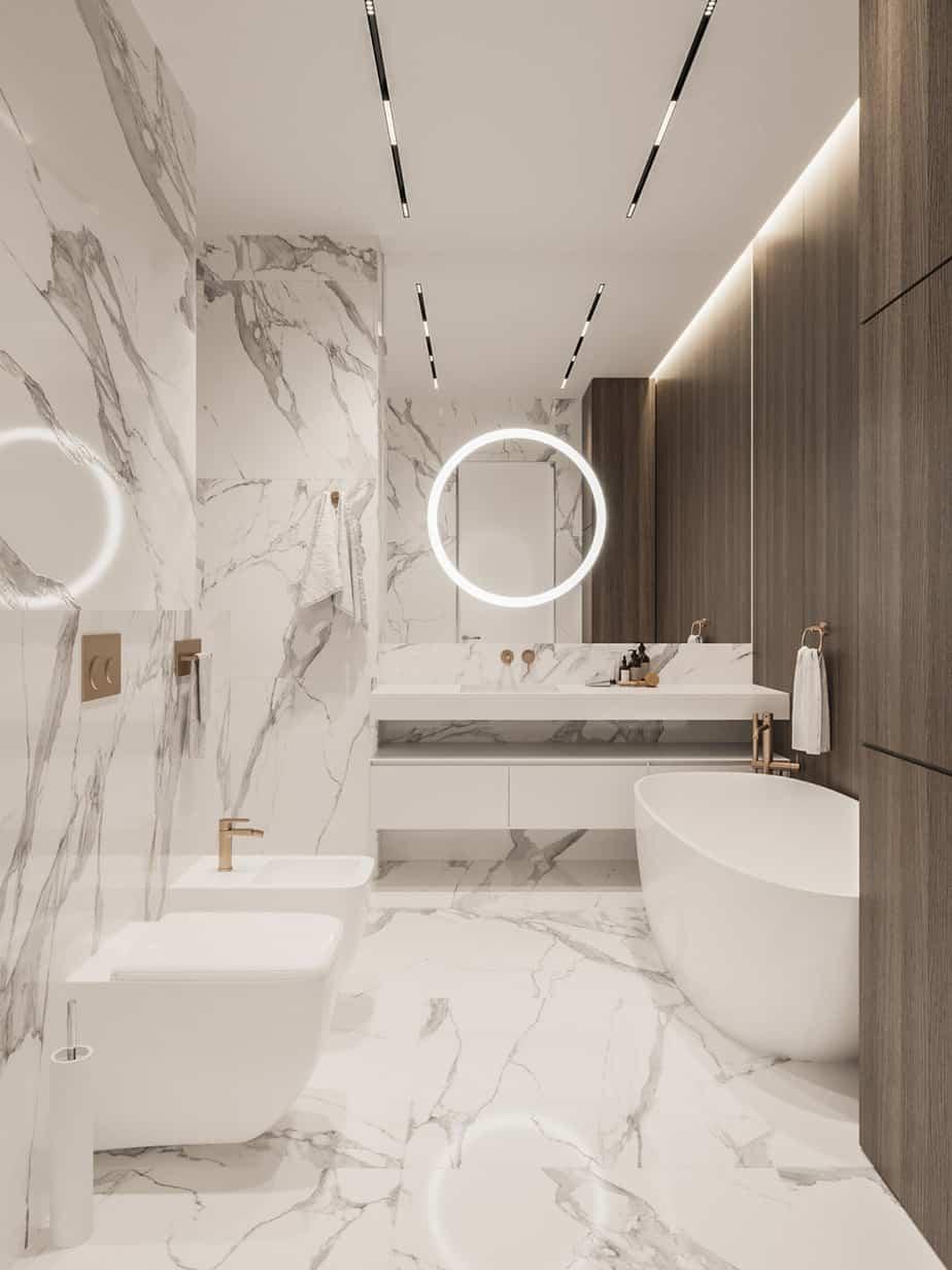 Tendances de conception de salle de bain 2021