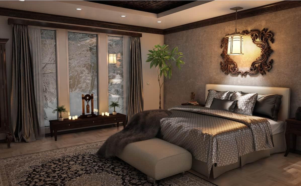 Chambres à coucher de style anglais (Victorien)