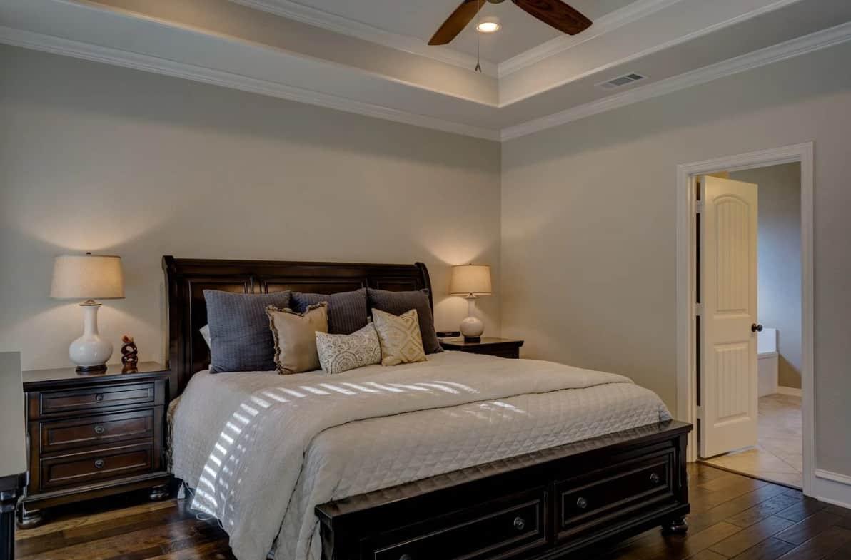 Tendances chambre à coucher classique 2022
