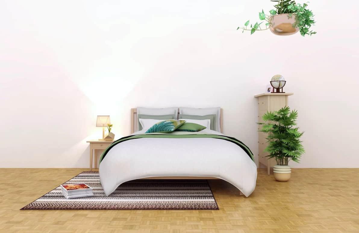 Tendances 2022 pour les chambres à coucher de style Ecologique
