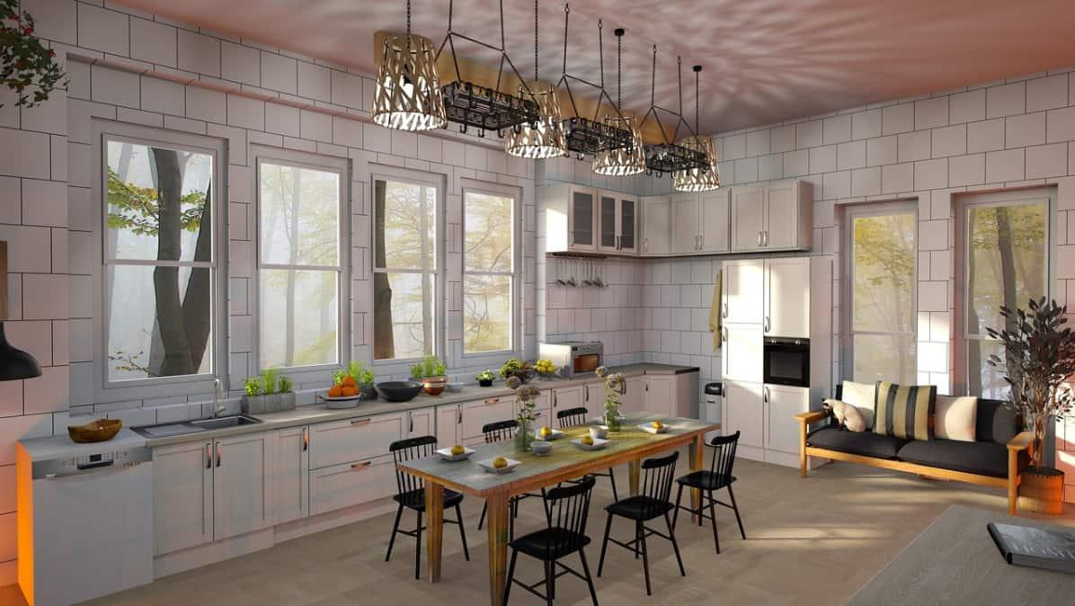 Salle à manger-cuisine 2022