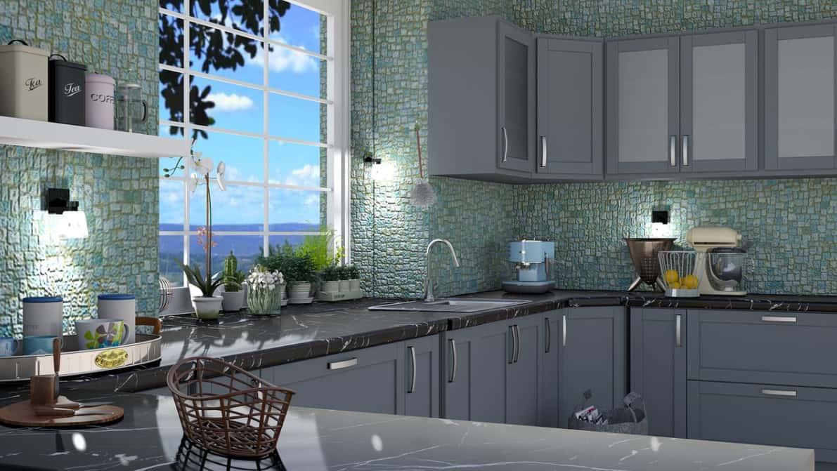 Nouvelles couleurs tendance dans la cuisine moderne 2022