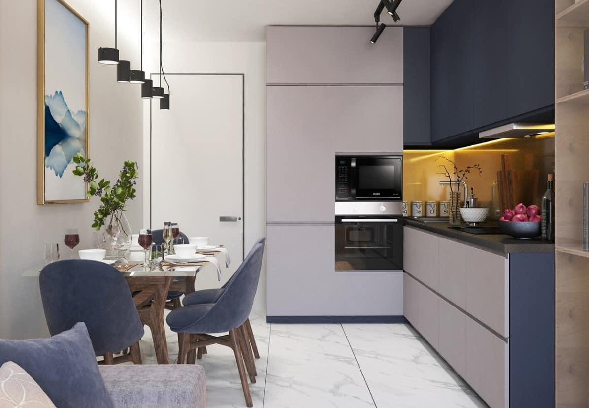 Décor de cuisine néoclassique 2022