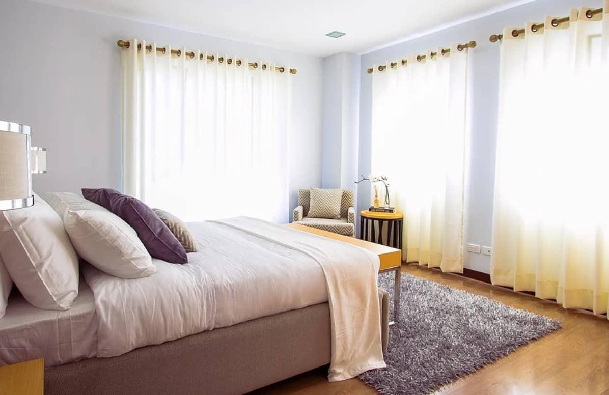 Idées des 17 rideaux 2022: chambre à coucher