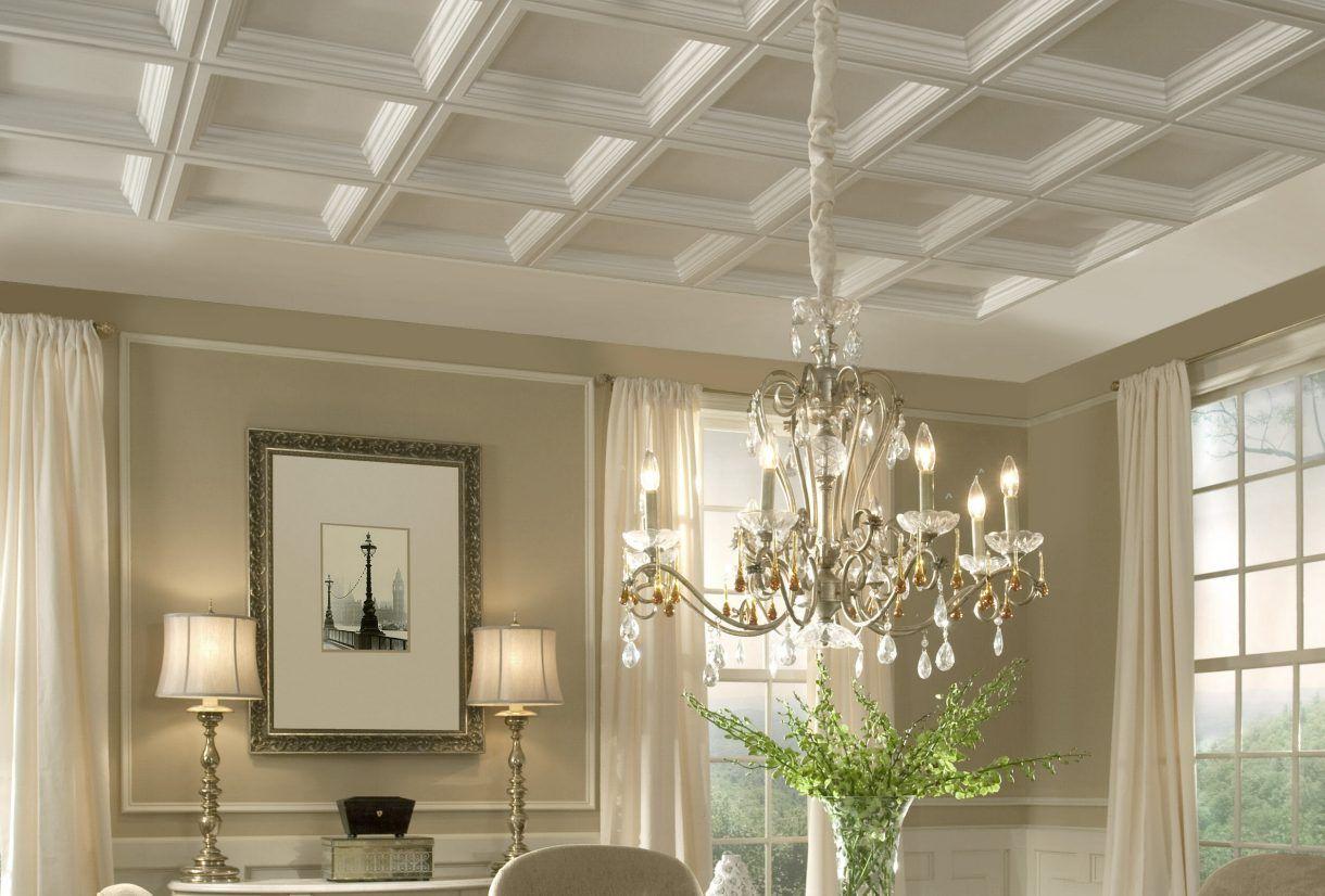 Meilleures options plafond 2022: plafonds tendus et suspendus