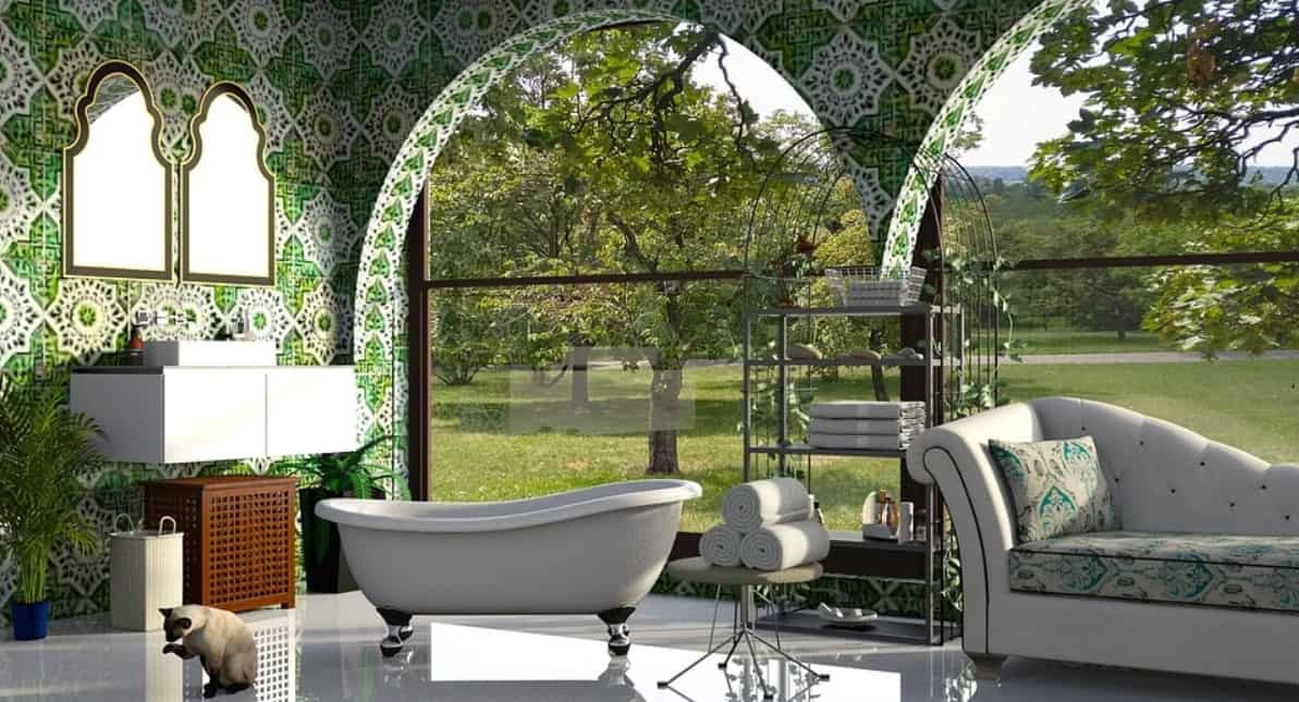 Idées de salle de bains éco-style 2022