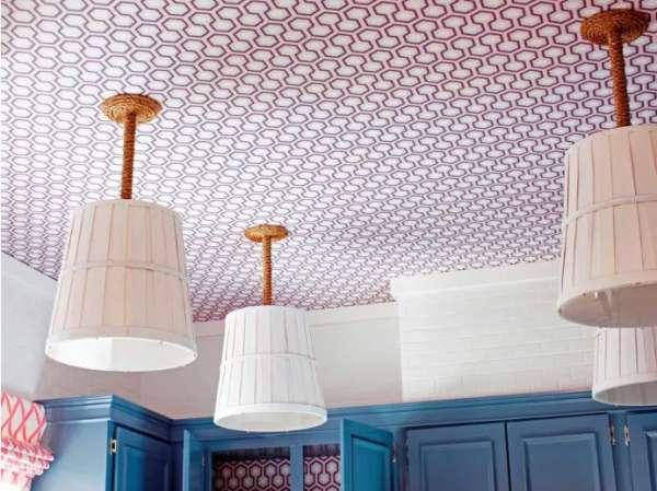 Nouveau design de plafond 2022: papier peint
