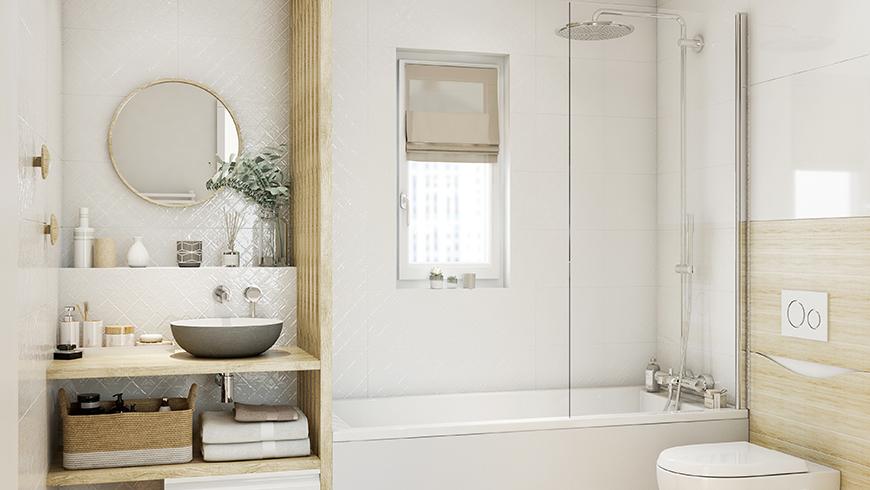 Tendances scandinaves pour les salle de bains 2022